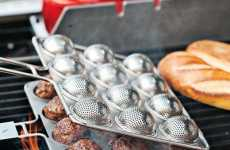 Grilling Balls - The Meatball Grill Basket Smokes Your Meat