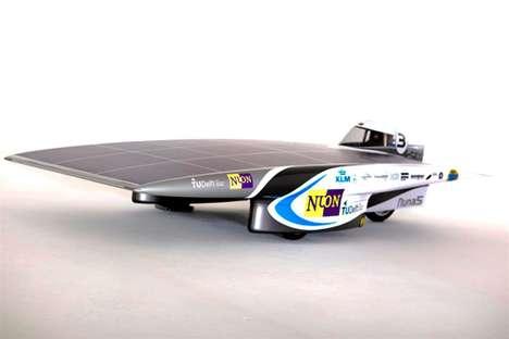 Solar-Powered Racecars