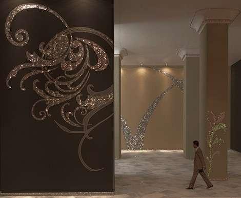 Clear Swarovski Crystal Tall Mediterranean Mirror : Fashion ...