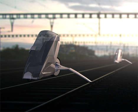Train Track Cars