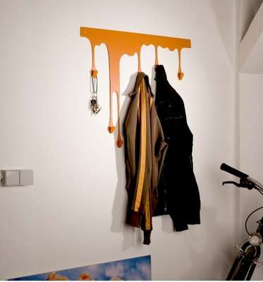 Julian Appelius Creates Colorful Dripping Coat Hangers