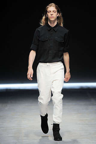 Costume National's Spring 2010 Menswear Show Needed a Stylist