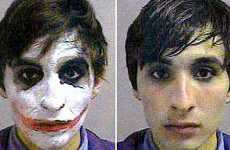 Halloween Mugshots - Criminals Caught in the Act While in Costume