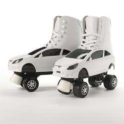 Car-Inspired Roller Skates
