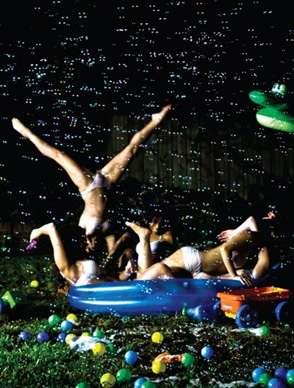 Underwear Pool Parties