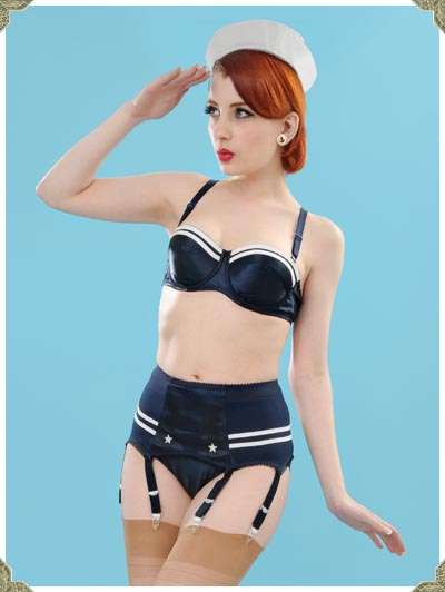 Nautical Lingerie