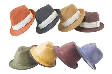 Colorful Panama Hats