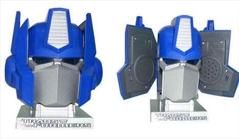 USB Robot Speakers