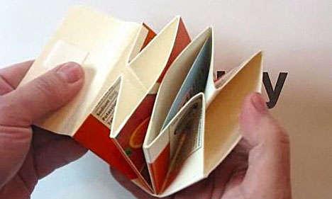 Milk Carton Origami