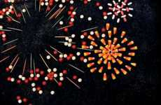 Stop-Motion Fireworks