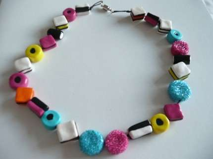 Licorice Jewelery - From Felted All-Sorts Beads to Handmade Licorice Whips