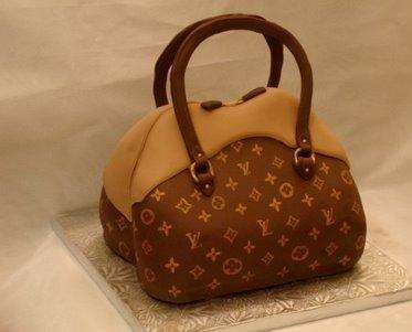 Edible Handbags - Louis Vuitton and Gossip Girl Fantasy Cakes Made to Order