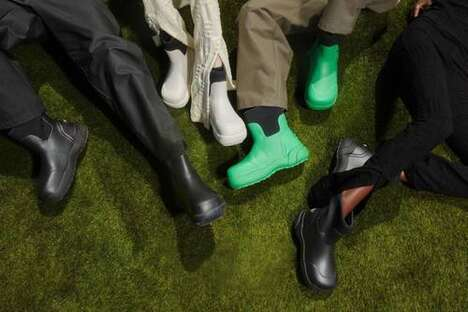 Fall-Ready Street Rubber Boots