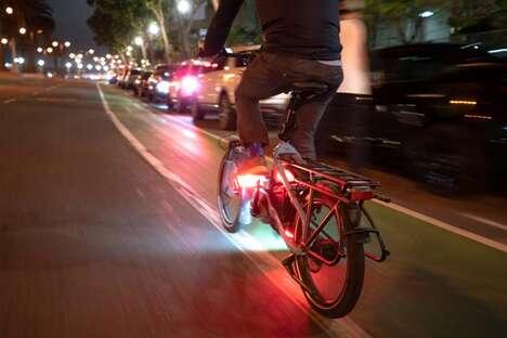 LED-Powered Pedal Lights