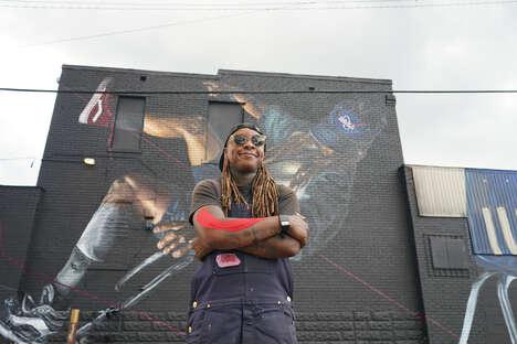 Black-Led Mural Festivals
