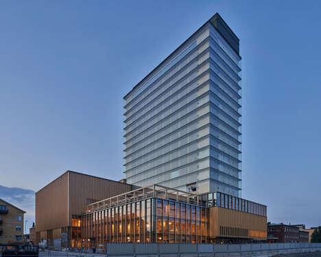 Carbon-Negative Timber Buildings