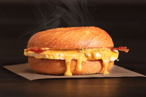 Breakfast Queso Sandwiches