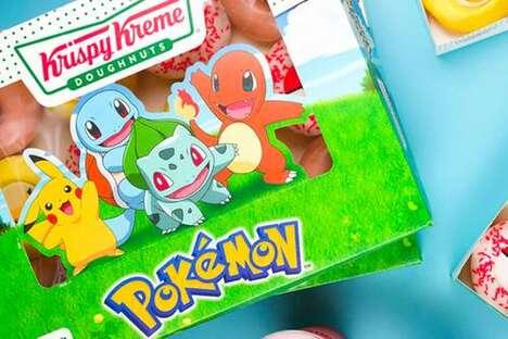 Cartoon-Themed Anniversary Donuts