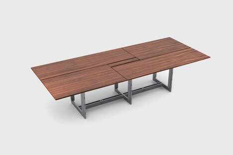 Timber Top Office Tables