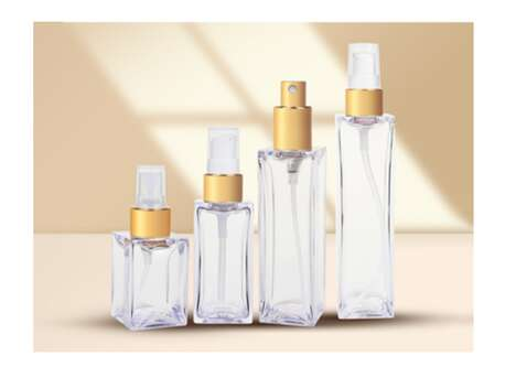 Eco-Friendly Square Cosmetic Bottles