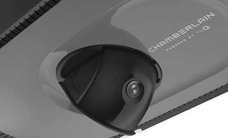 Camera-Equipped Garage Door Openers