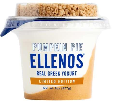 Pumpkin Pie-Themed Yogurts