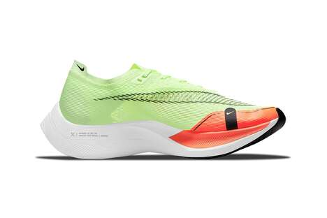 Fluorescent High-Speed Sneakers