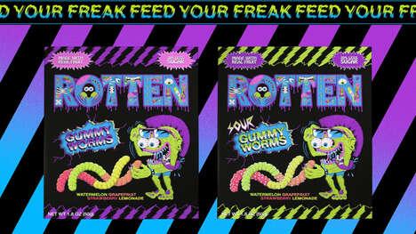 Low-Sugar Gummy Worms