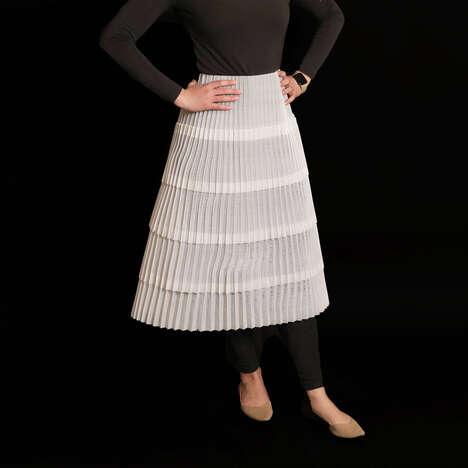Sustainable 3D-Printed Fabrics