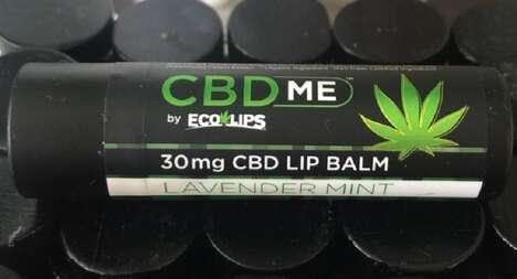 CBD-Infused Lip Balms