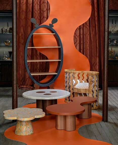 Undulating French Furniture Collections