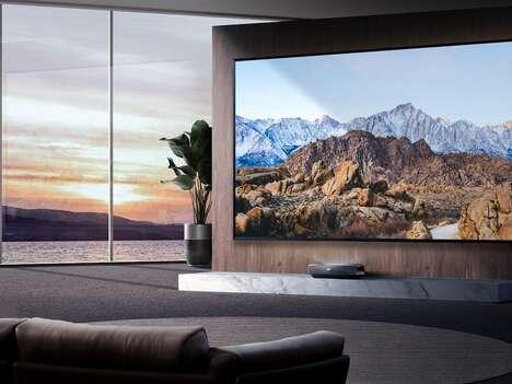 Dazzling Imagery Laser TVs