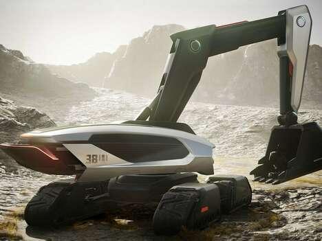 Autonomous Excavator Vehicles