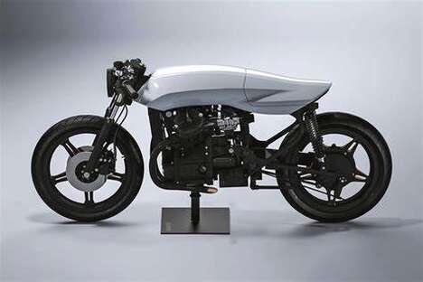 Sculpturally Pronounced Motorcycles