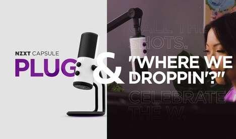 Streamer-Targeted Microphones