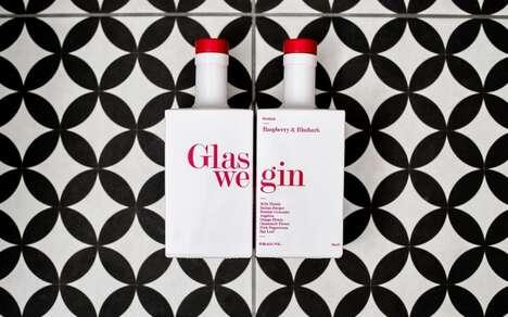 Pink Botanical Scottish Gins