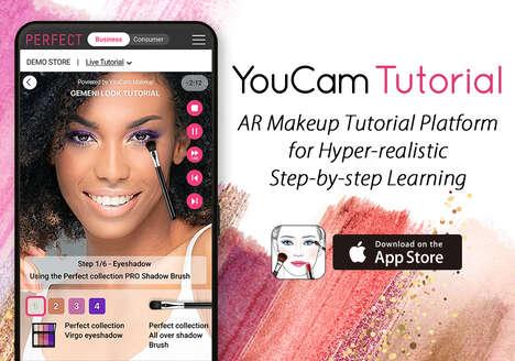 AR Makeup Tutorial Platforms