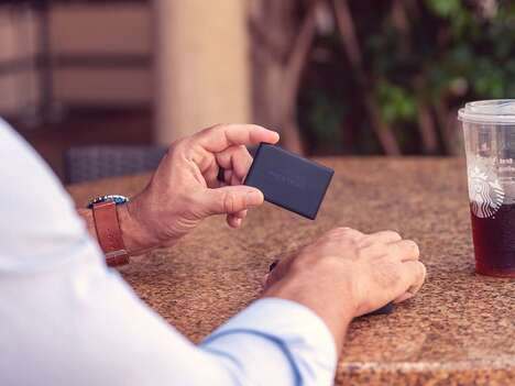 Card-Shaped 4G-Enabled Trackers