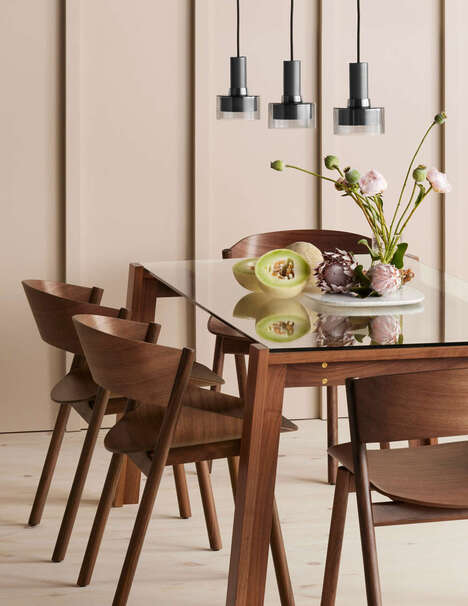 Contemporary Wooden Dining Chairs