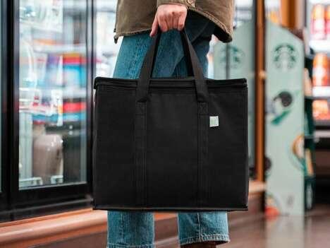 Heavy-Duty Insulated Shopper Bags