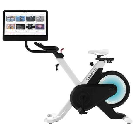 Gamified Digital Exercise Bikes