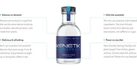 Ketone-Infused Energy Drinks