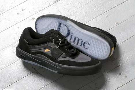 Limited Wavy Paneling Sneakers