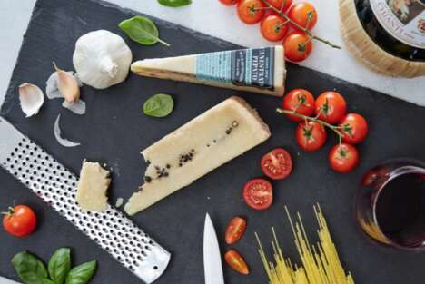 Peppercorn-Infused Italian Cheeses