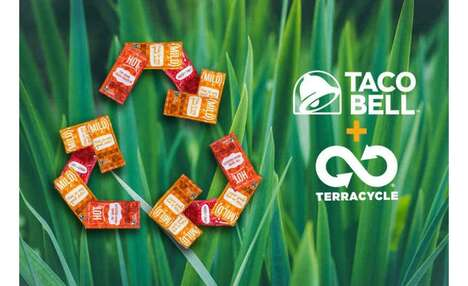 Recyclable Sauce Packets