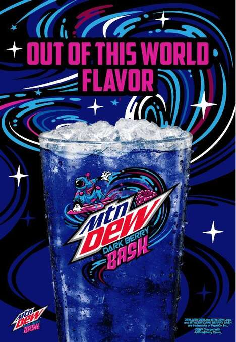 Cosmic Berry-Flavored Beverages