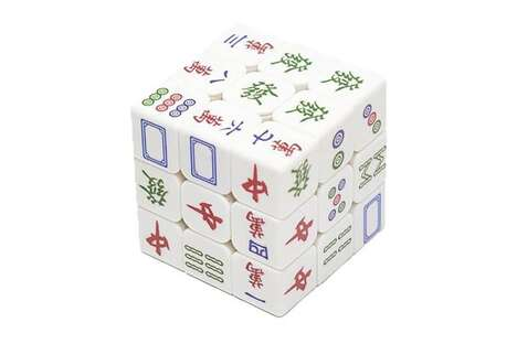 Mahjong-Themed Puzzle Cubes