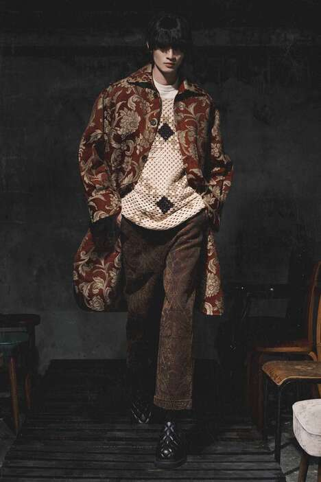 Playwright-Themed Textural Fashion