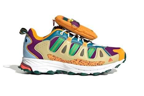 Cartoon-Inspired Dramatic Sneakers