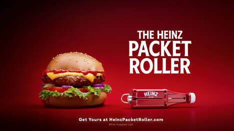 Branded Ketchup Packet Rollers